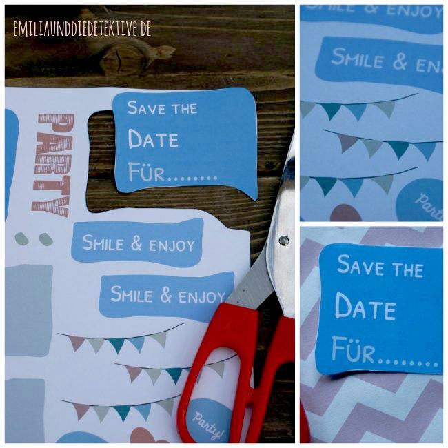 Puzzle Einladungskarte