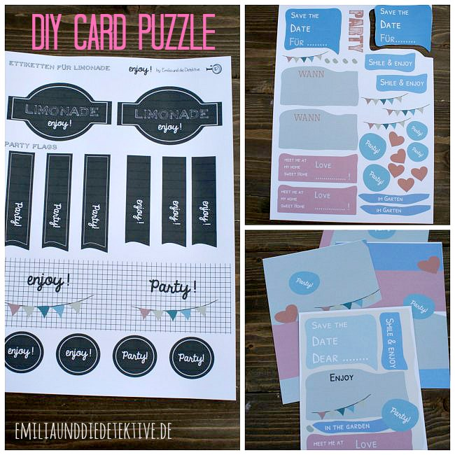 Download Puzzle Card and Ettiketten
