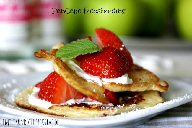 Pancake fotoshooting