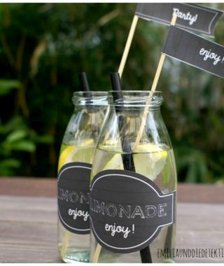 { DIY FREEBIES } Party Cards & Labels