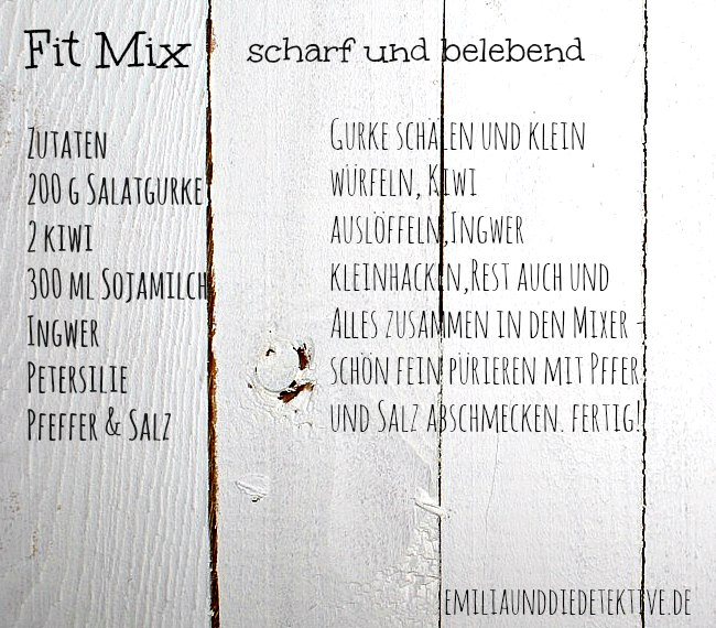 Zutaten Fit Mix