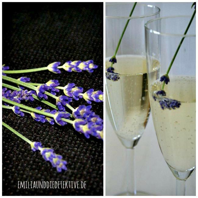 Lavendel und Holunder sekt