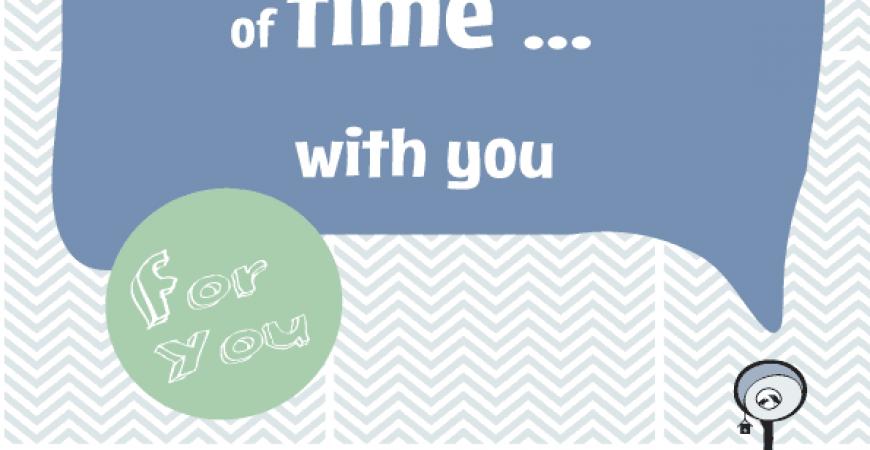 Zeit zum mitnehmen 〖relax and take a piece of time with you〗