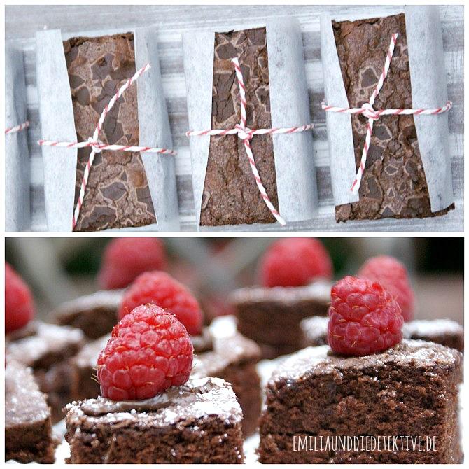 Brownies schön verpackt