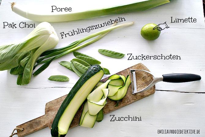 Zutaten Gemüse