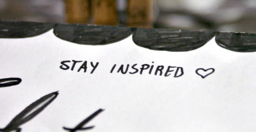 stay inspired – love what you do – Papierhaus zum Downloaden
