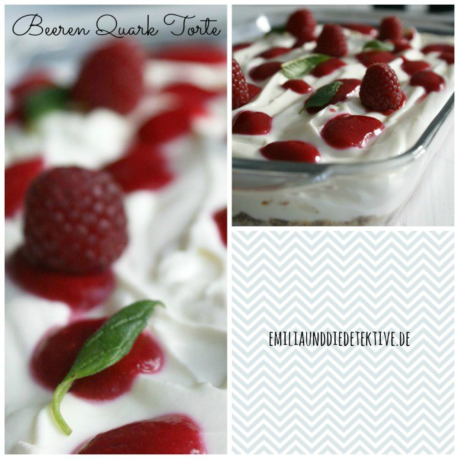 Beeren Quark Dessert