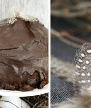 Glück für jeden Anlass – Kakaokuchen mit Zartbitter Glasur