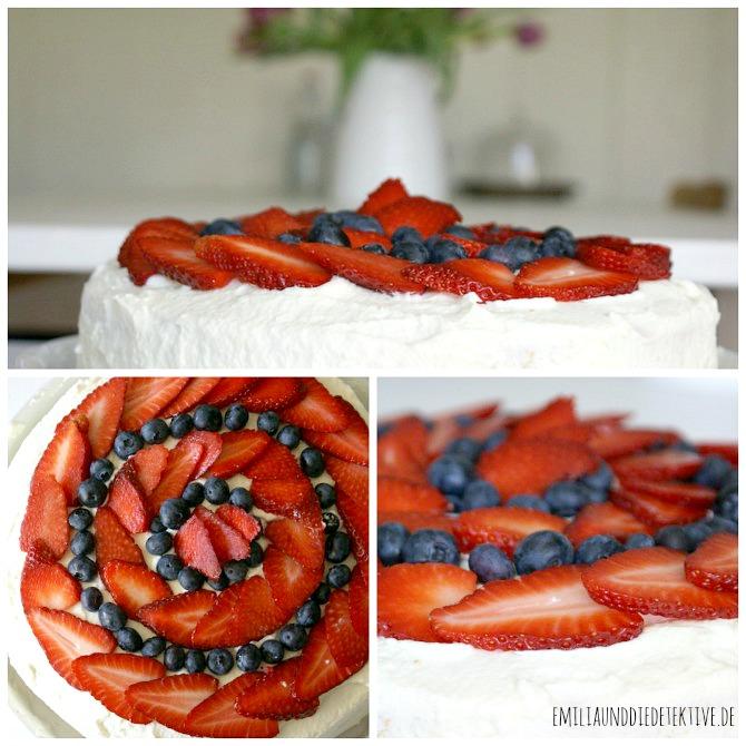 Erdbeere Sahne torte