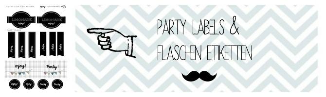 Party Etiketten