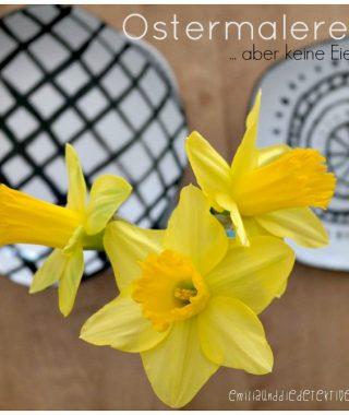 Oster DIY: Porzellan Malen -keine Ostereier!