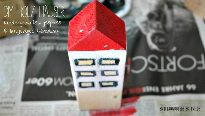 DIY Holz Haus