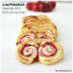 In den Picknickkorb: Beerige Mini Schweineohren