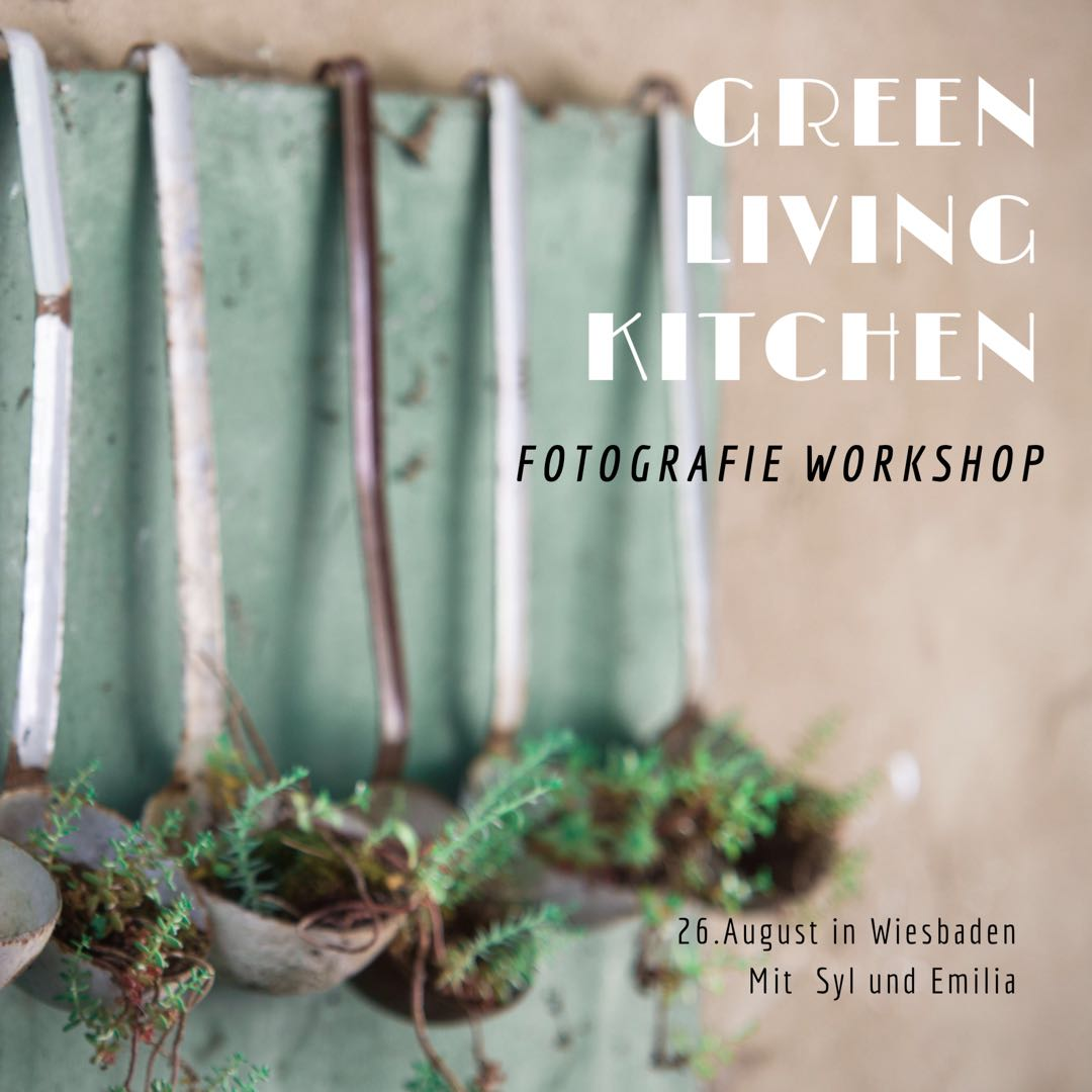 green living kitchen Fotografie Workshop