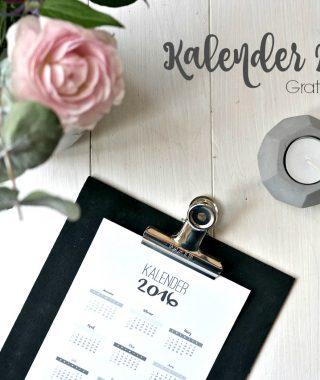 Kalender 2016 auf einen Blick zum Downloaden