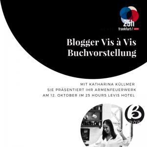 Blogger Vis à Vis im 25Hours Levis Frankfurt