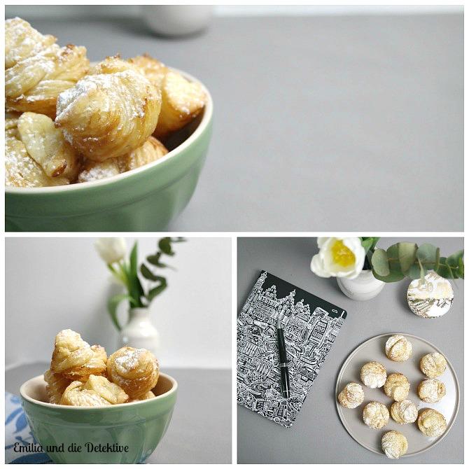 Teegebäck aus Blätterteig