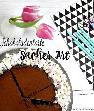 Wie wäre es mit einer Schokoladentorte Sacher Art zu Ostern