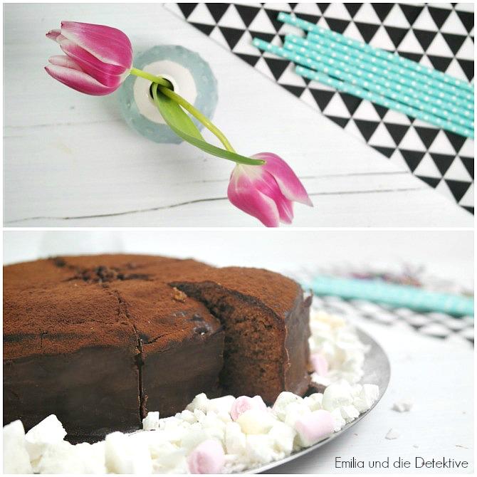 Schokoladen Torte Sacher Art
