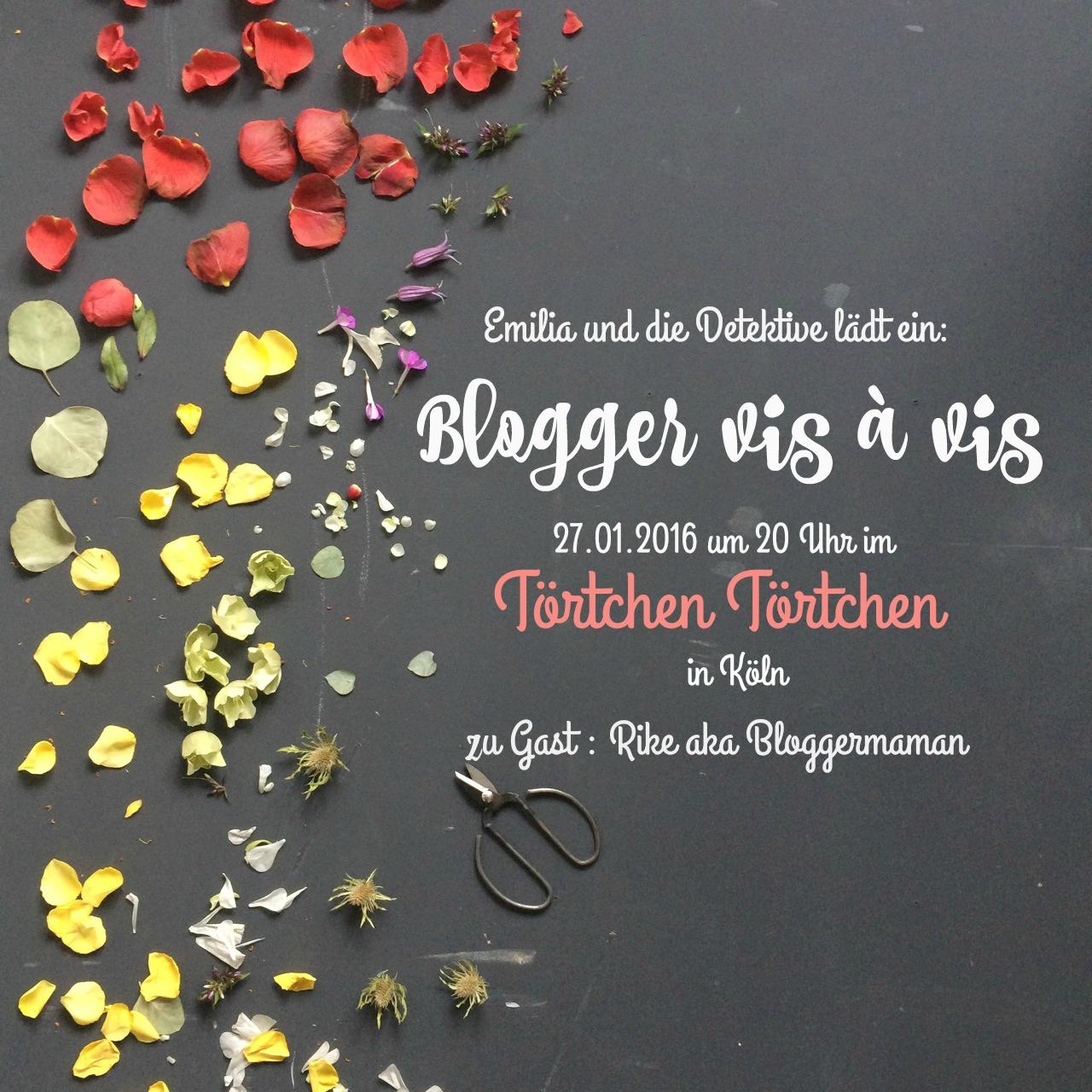Blogger Vis à Vis im Törtchen Törtchen in Köln