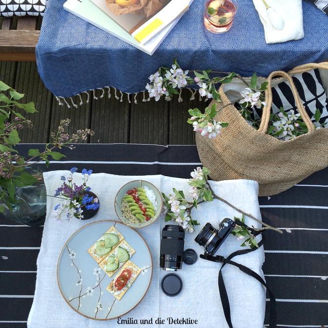 Picknick auf dem Sonnendeck