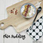 Chia Pudding – das Fitness Frühstück!