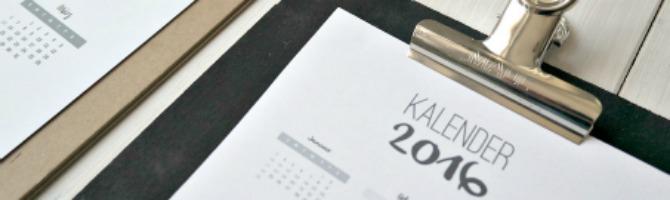 Kalender 2016 downlaod