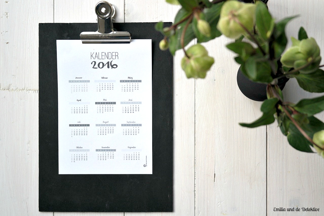 Kalender 2016 A5