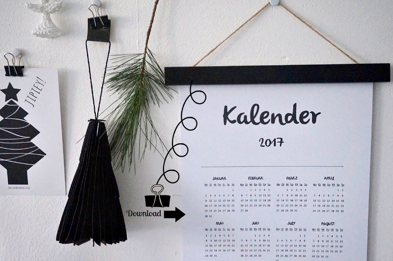 Kalender 2017 zum Downloaden