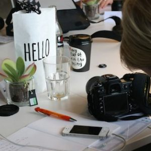 Bloggerin beim Fotografie Workshop