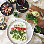 Picknick mit Peili – Vegane Wrapröllchen und Bärlauch Pesto