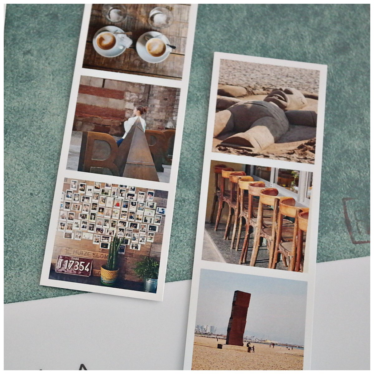 Barcelona_travel_shodow_box mini prints von Cewe