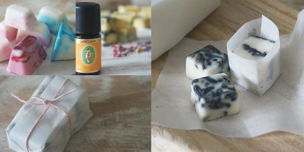 Seifenstückchen selbst gemacht