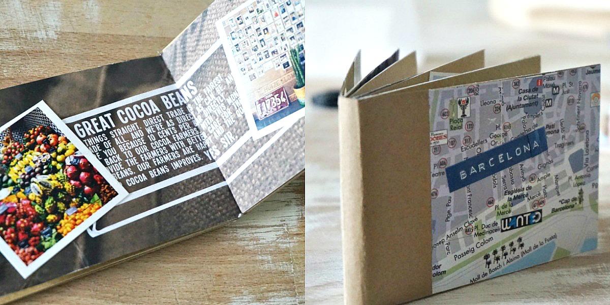 Mini album mit Mini Prints von Cewe